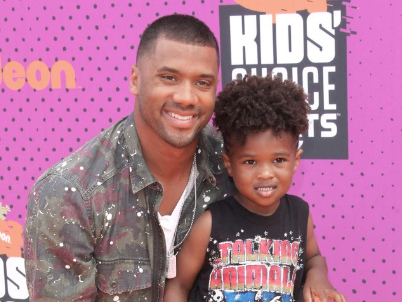 Here We Go Again: Russell Wilson Had An Outing With Baby Future & Chapped Lipped Twitter Toppled
