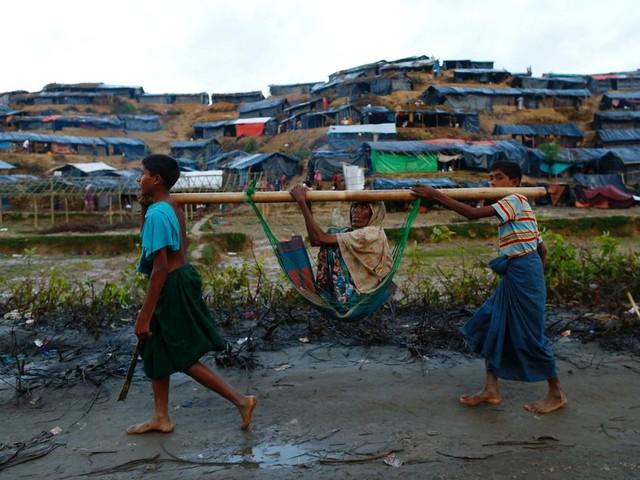 Aan de grens met Bangladesh is er steun voor de rebellen in Burma: 'Wij moeten wel terugvechten'