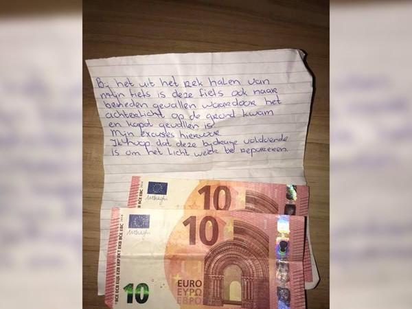 Bijzonder verhaal: Elina vindt kapotte fiets terug, maar krijgt wel geld