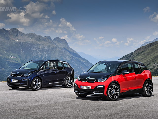 The new BMW i3s and i3 Facelift – First Videos