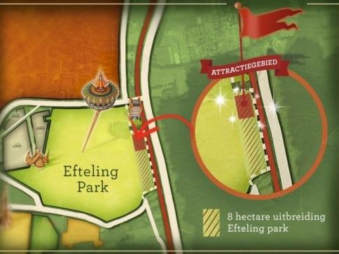 Efteling wil het park uitbreiden voor nieuwe attractie