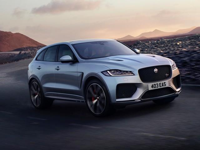 2019 Jaguar F-Pace SVR arrives with 542-hp