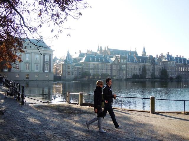 In de meivakantie: Kinderen de baas op het Binnenhof