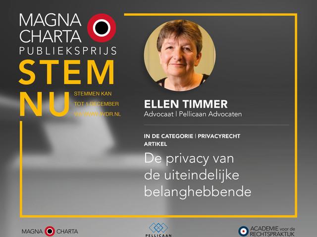 De privacy van de uiteindelijke belanghebbende | artikelen genomineerd voor de Magna Charta Publieksprijs