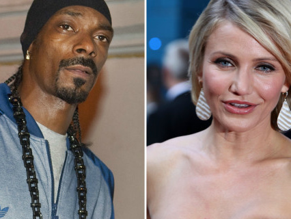 """Pure Comedy: Snoop Dogg Calls Out Cameron Diaz For Snitching About Their """"Kushy"""" High School Days"""