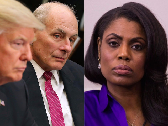 As The Trump White House Turns…Kelly Allegedly Banned Angry Omarosa's Hubby From X-Mas Bash Right Before Canning Her