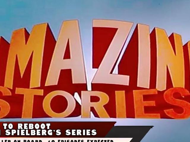 Apple To Reboot Steven Spielberg's Amazing Stories