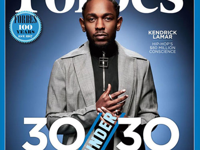 Kendrick Lamar Covers Forbes