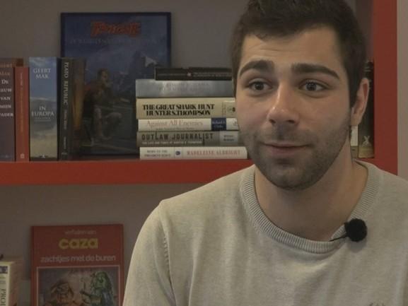 Student Georgi uit Bulgarije twijfelt tussen toekomst in Enschede of Amsterdam