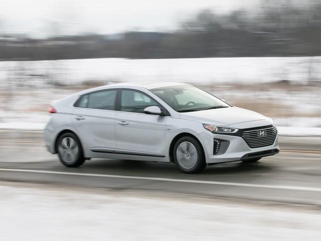 2018 Hyundai Ioniq Plug-In Hybrid – Instrumented Test