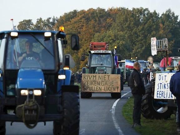 LIVE | Eerste protesterende boeren komen aan in Bilthoven