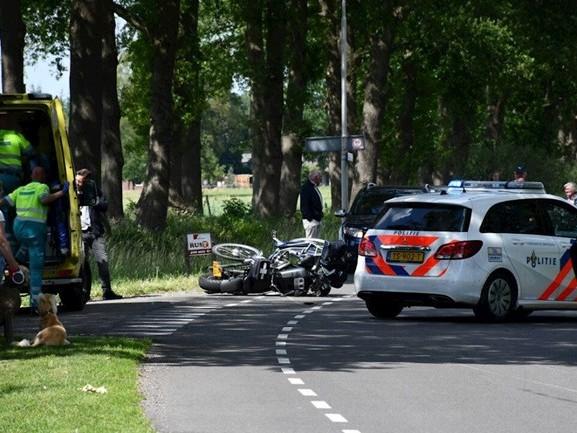 Fietser overleden na verkeersongeval in Den Ham