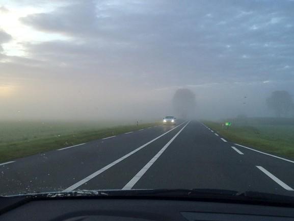 KNMI geeft code geel af voor dichte mist