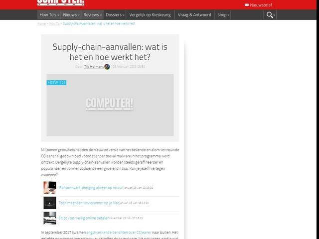 Supply-chain-aanvallen: wat is het en hoe werkt het?