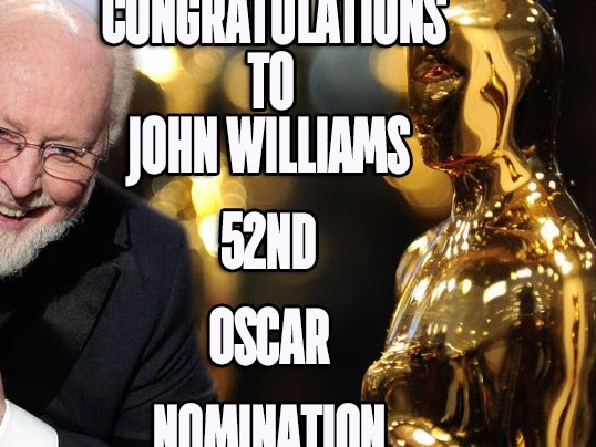 John Williams Bags His 52nd Oscar Nomination For Star Wars: The Rise of Skywalker