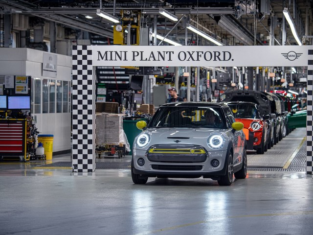 MINI Plant Oxford has built more than 11,000 MINI Electrics