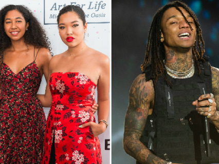 Swae Lee's Boo Tried To Come For Ming Lee Simmons Over Her Man But Got DESTROYED By Teenage Aoki Simmons (And Twitter)