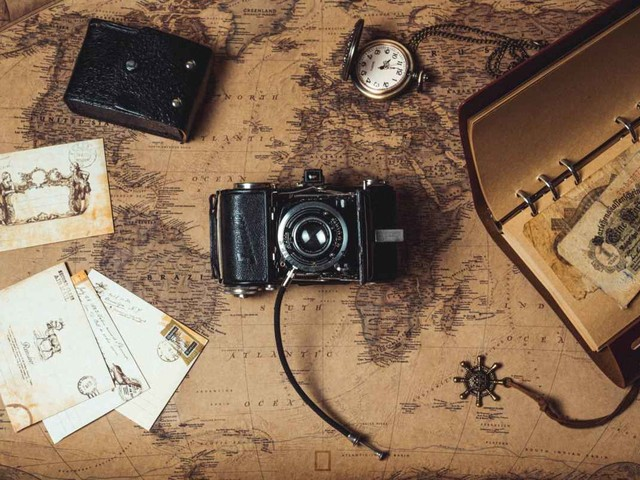 Der magische Kompass, der an einen Ort führt, der nicht mehr Norden, noch nicht Süden ist.