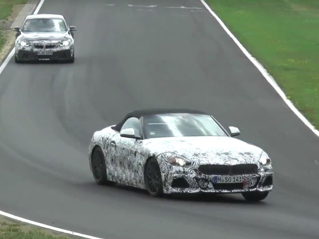 SPIED: BMW Z4 shows off a radically new grille for BMW