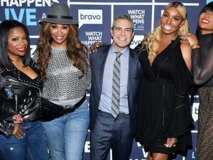 """Really??? Andy Cohen Explains Why #RHOA's Marlo Will """"Never"""" Get A Peach, Subtle Side-Eye From Kandi Ensues [Video]"""