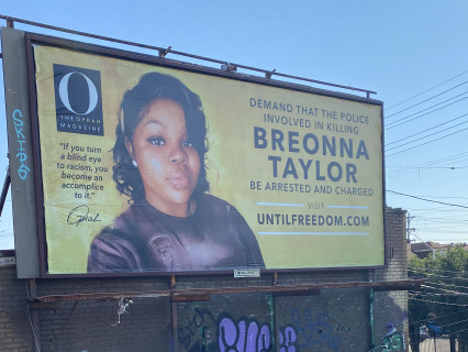 Oprah Buys 26 Billboards In Louisville Demanding Justice For Breonna Taylor