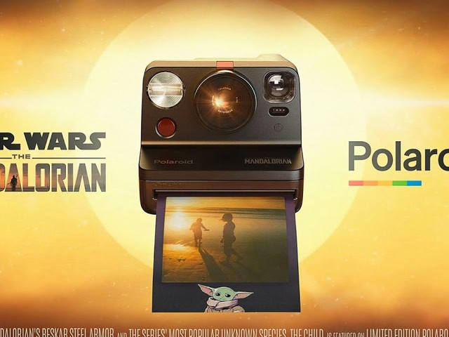 Polaroid And Lucasfilm Team Up To Bring Special-Edition The Mandalorian Camera