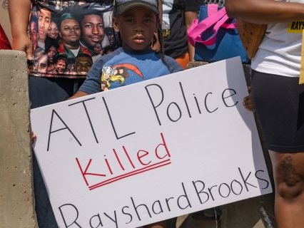 Sleeping While Black: Rayshard Brooks' Widow Sues Atlanta, Killer Cops For Shooting, Kicking, And Refusing To Help Him