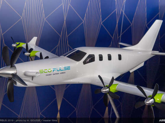 Daher, Airbus and Safran team up to develop distributed hybrid propulsion aircraft demonstrator: EcoPulse 2019