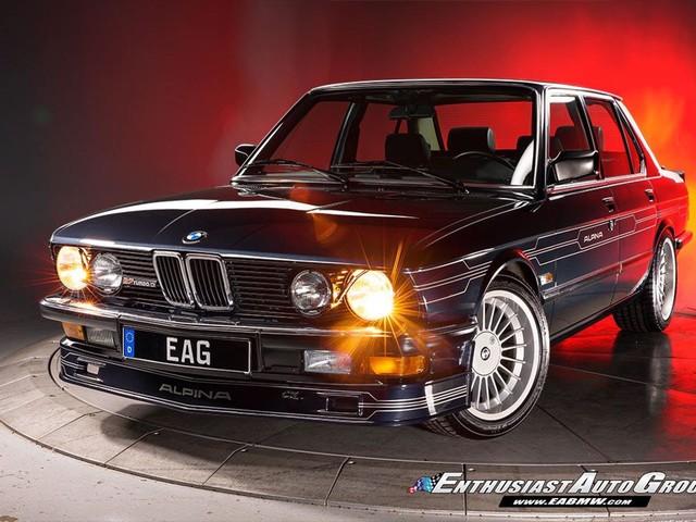 One-Of-A-Kind: 1987 ALPINA B7 Turbo/3