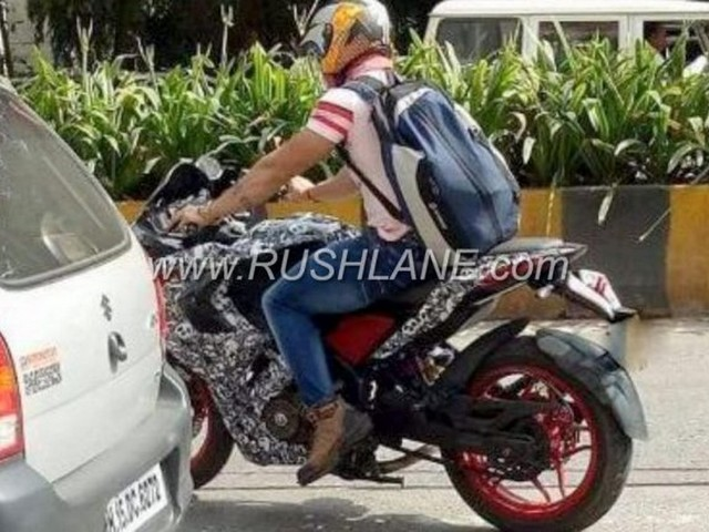 2018 Pulsar RS 200 Spotted On Test