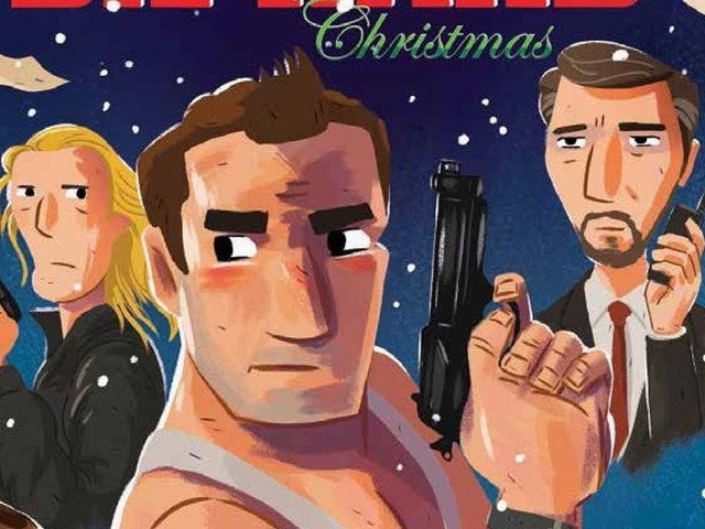 "The Bearded Trio Christmas Gift Idea #7: ""A Die Hard Christmas"" and ""Die Hard: The Authorized Coloring and Activity Book"""