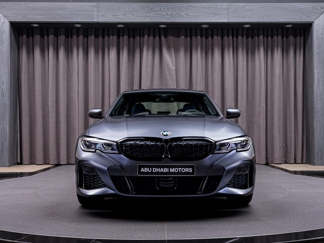 Frozen Dark Grey BMW M340i xDrive First Edition is quite a looker