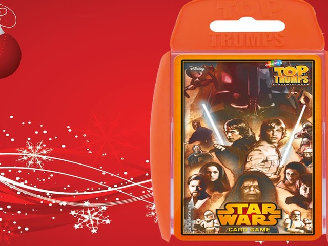The Bearded Trio Christmas Gift Idea - Star Wars Top Trumps