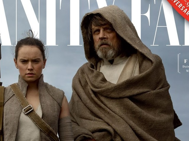Vanity Fair Release Four Exclusive Covers Featuring The Last Jedi