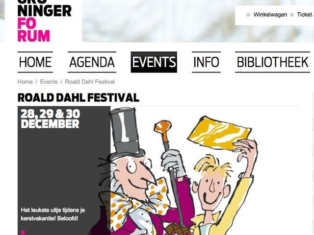 Groningen sluit het jaar af met het Roald Dahl festival