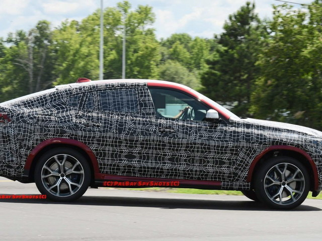 SPIED: Upcoming BMW X6 caught yet again