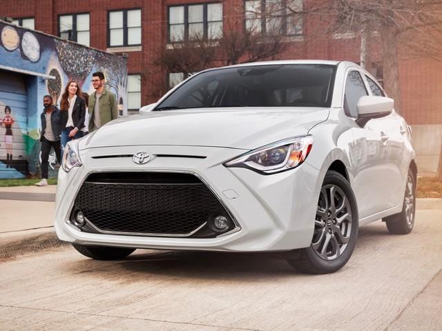 2019 Toyota Yaris sedan starts at $16,370