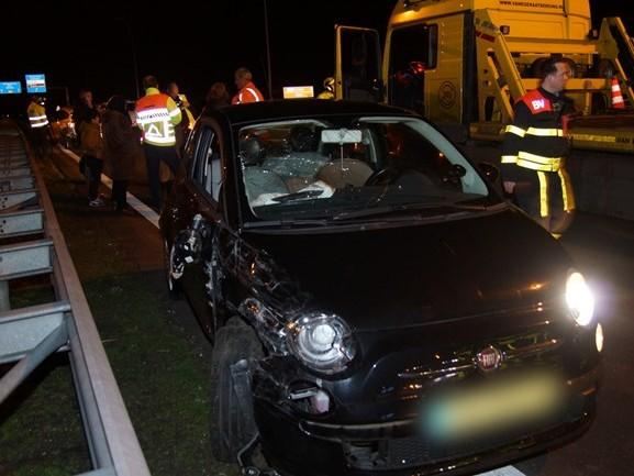 Meerdere ongelukken op de Midden-Brabantweg bij Waalwijk en Kaatsheuvel