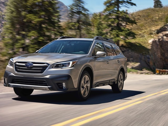 2020 Subaru Legacy priced at $23,645 and Outback at $27,655