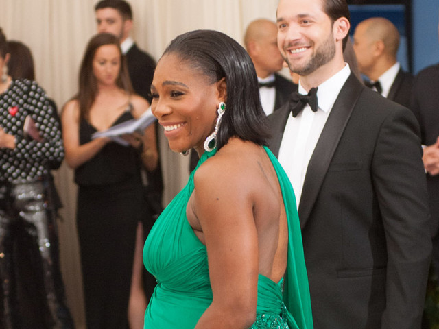 Sweet Swirly Preciousness: Serena Williams And Alexis Ohanian Share More Shots Of Baby Olympia