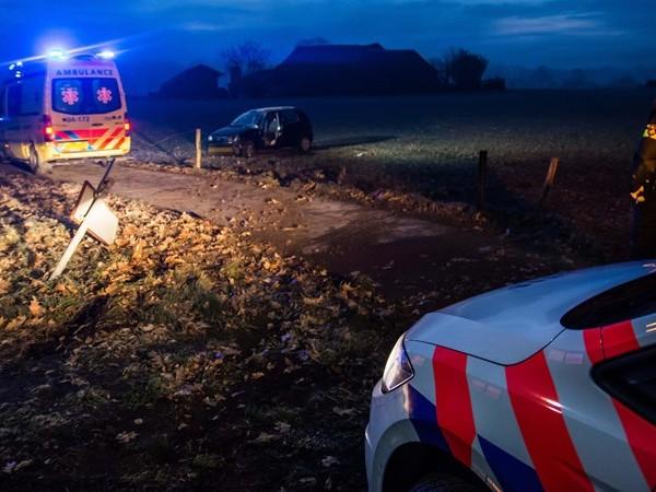 Gewonden bij ongelukken in Olst en Hengelo in dichte mist