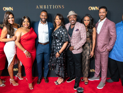 """Robin Givens, Essence Atkins, Brian White, Brely Evans And More Celebrate The Premiere Of Their New OWN Series """"Ambitions"""" [PHOTOS]"""