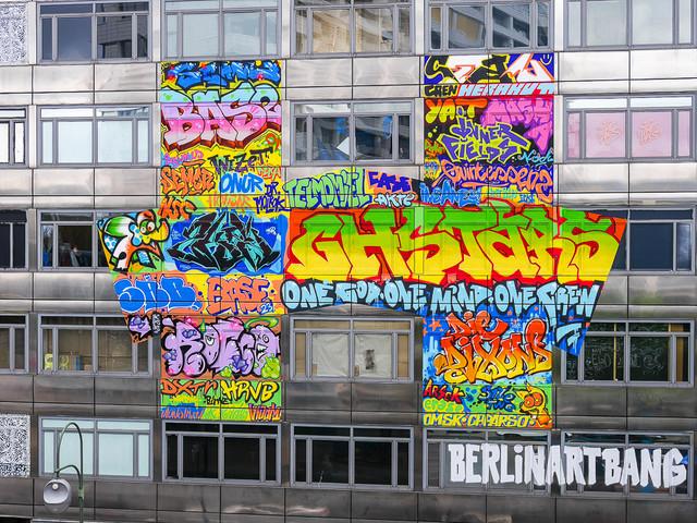 The Haus – Tijdelijk street art project in een voormalig bankgebouw