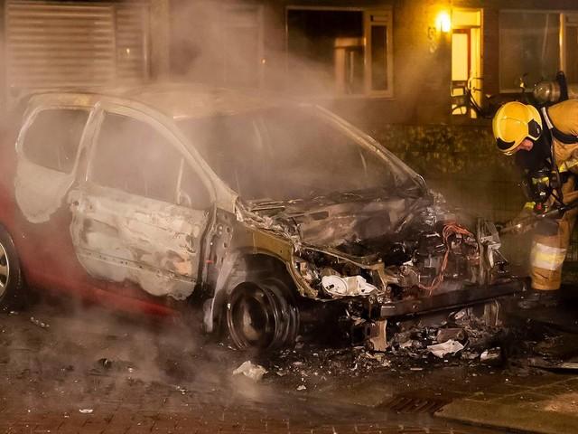 Reeks autobranden in gemeente Oss houdt aan, nu is het raak in Berghem
