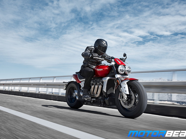 Triumph Rocket 3 Launched, Priced At Rs. 18 Lakhs