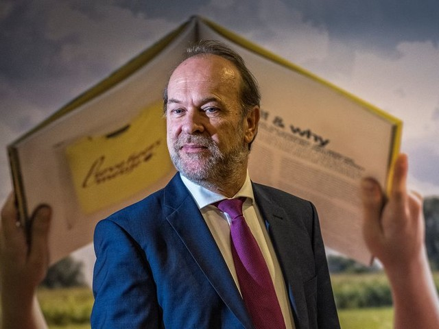 Bert Blase solliciteert openlijk naar het burgemeesterschap in Den Haag