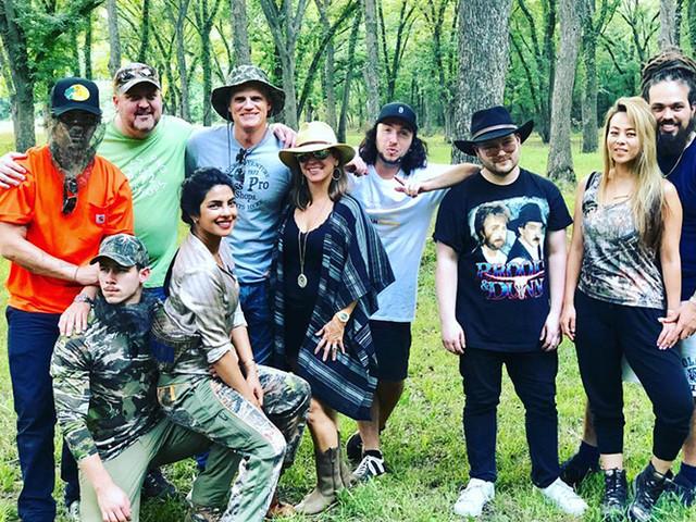 "Nick Jonas And Fiancee Priyanka Chopra Embrace ""Ranch Life"" In Matching Camo"