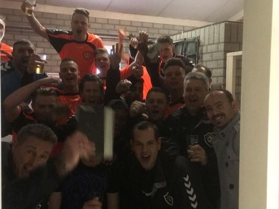 Na 34 maanden een overwinning voor SV Ruwaard: 'Traantje gelaten'