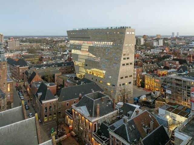 Forum Groningen is het beste gebouw van Nederland