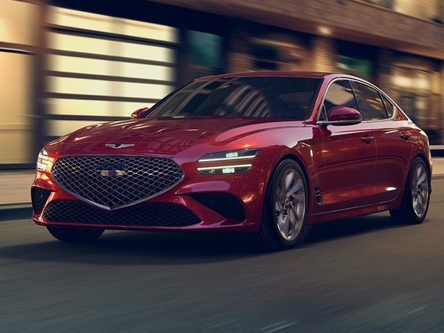 2022 Genesis G70 gets a Sports package and drift mode